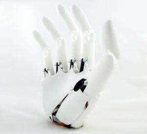 YouBionic produziert Handprothesen mit dem 3D-Druck und modernen Technologien zur Steuerung mittels der Gehirnströme (Bild © youbionic.com).
