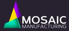 Logo Mosaic Manufacturing