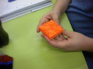 3D-Druck von dem Foto aus dem Mikroskop