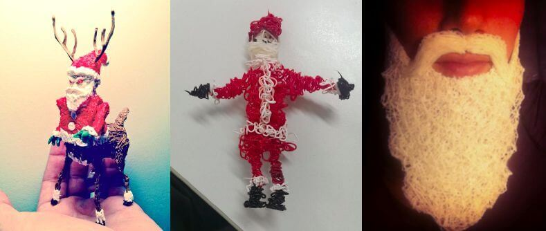 Weihnachtsmann (Bild © the3doodler.com)