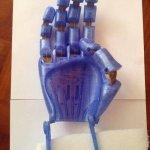 Hand aus 3D-Drucker
