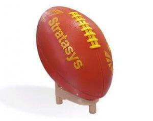 Football aus 3D-Drucker