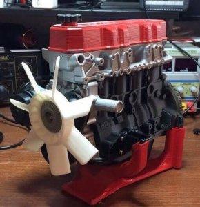 Motor aus 3D-Drucker