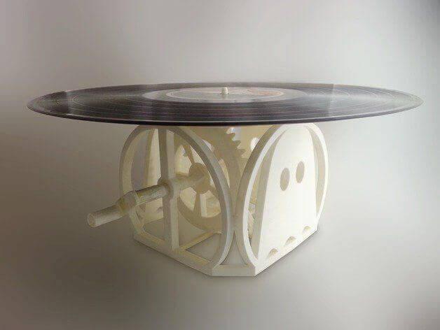 Schallplattenspieler aus dem 3D-Drucker