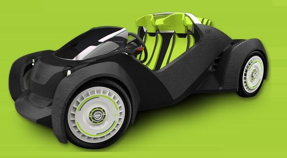 Strati – Auto aus dem 3D-Drucker