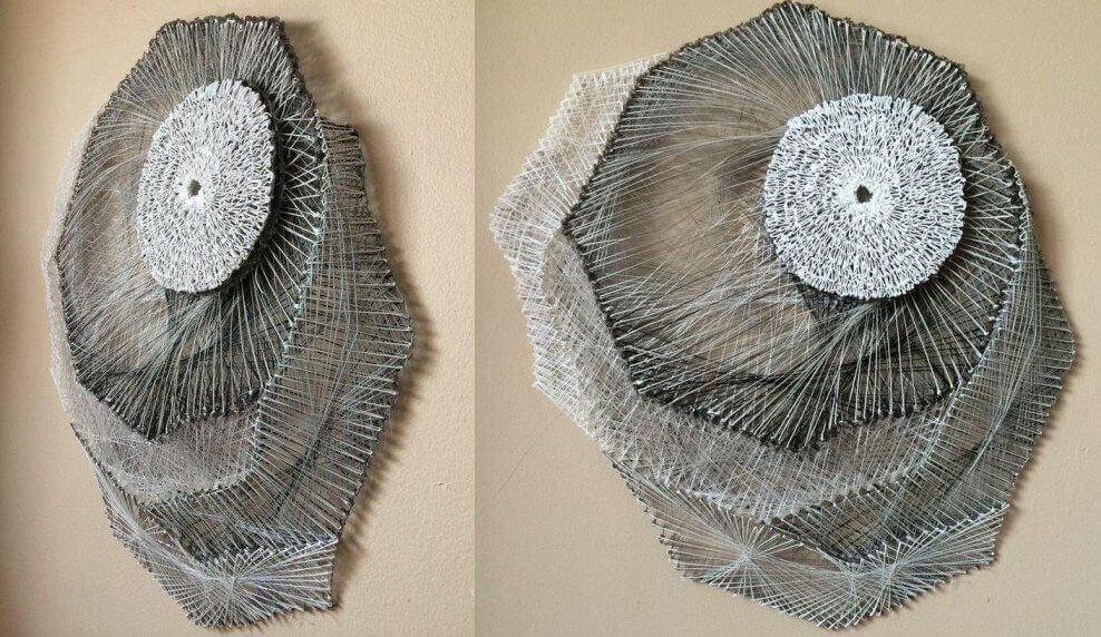 Kunstwerk mit dem 3Doodler von Rachel Goldsmith (Bild © Rachel Goldsmith).