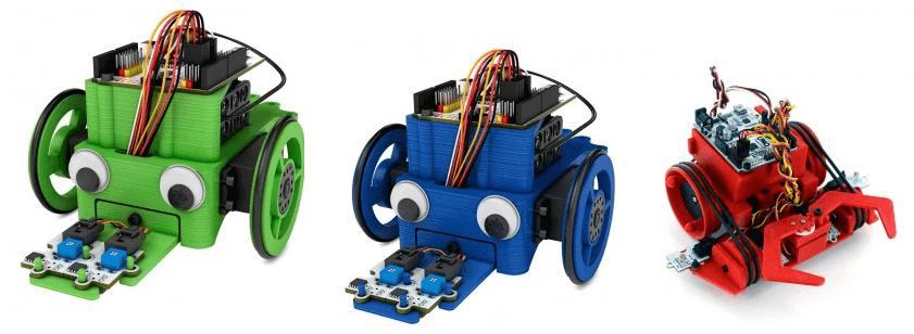 Roboter aus 3D-Drucker
