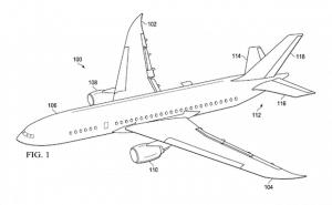Teiles eine Flugzeugs