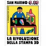 Briefmarke 3D-Drucker