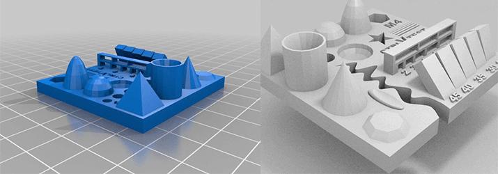 Kalibrierungstest für 3D-Drucker