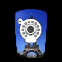 Kiwatch Eifelturm