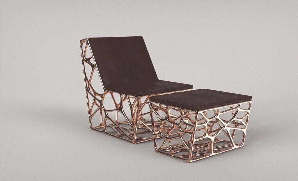 Anspruchsvolles Design Und 3D Technik In Einem, So Sehen Möbel Der Zukunft  Aus. (Bild © Ventury Paris)