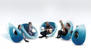 Stühle aus dem 3D-Drucker