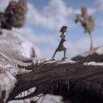 Filmszene: Mädchen mit Ukelele