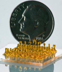 Schachfiguren SLA-Drucker