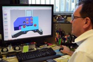 3D-Druckobjekt in Arbeit