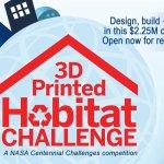 3D Wettbewerb der NASA