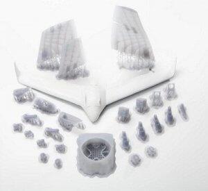 Bauteile der MRB-1 Drohne