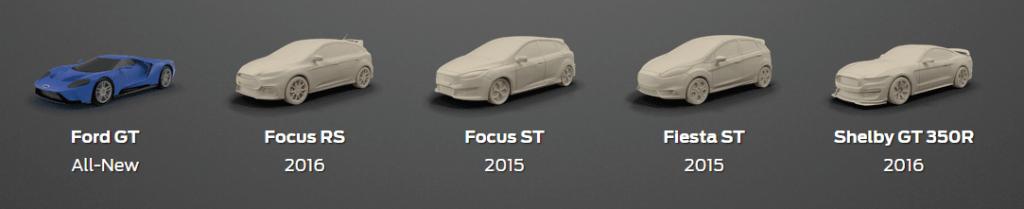 Ford-Modell für 3D-Druck
