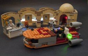 Leucht-Legosteine