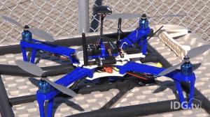 Diese Drohne kann ferngesteuert werden und dient u.a. der Sicherheit der Besatzung (Foto: © IDGtv)