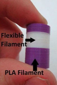 Der Hobby-Maker zeigt, wie man zwei Materialien vereinen kann, um das Objekt noch stabiler zu machen (Foto: © instructables.com)