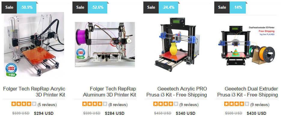 Low-Budget 3D-Drucker