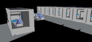 So stellt sich Tran seinen Mille 3D-Drucker vor: eine mobile Druckstation mit unterschiedlichen Features (Bild: © swfl3d.com)