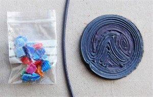 Auch als Packet kann man Plastikkappen, Filament und den SEACOIN erhalten (Foto: © projectseafood.com/shop)