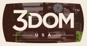 Logo 3Dom USA