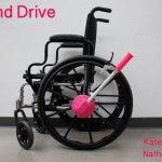 Rollstuhl-Handantrieb