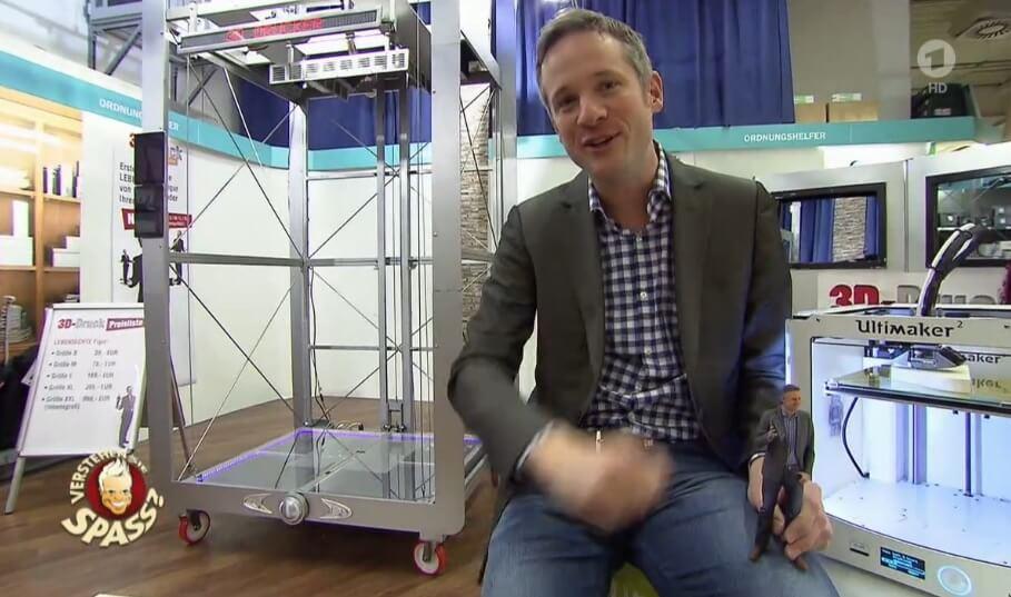 """3D-Drucker als Thema bei """"Verstehen Sie Spass"""""""