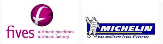 Fives Groups und Michelin