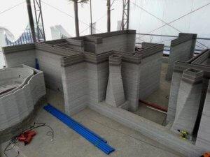 Hotel aus dem 3D-Drucker