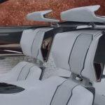 3D Visualisierung des Innenraum Peugeot Fractal