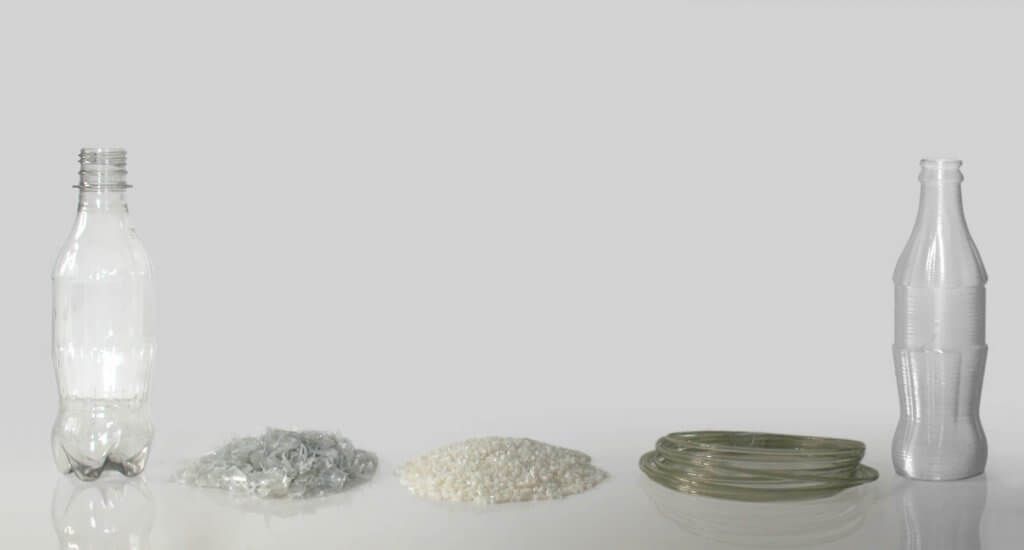 PET-Filament aus Recycling für 3D-Druck