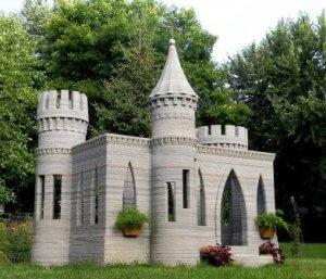 Schloss aus dem 3D-Ducker