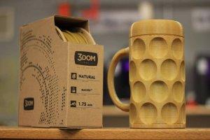 Bierglas aus Bier-Filament