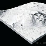 Hohentwiel als 3D-Modell