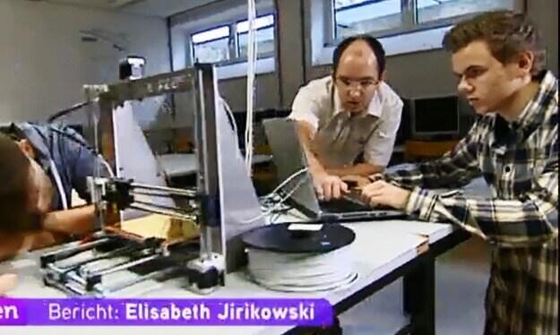 3D-Drucker bei Otelo
