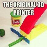 The Original 3D printer