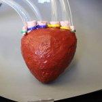Schaumstoff-Herz aus dem 3D-Drucker