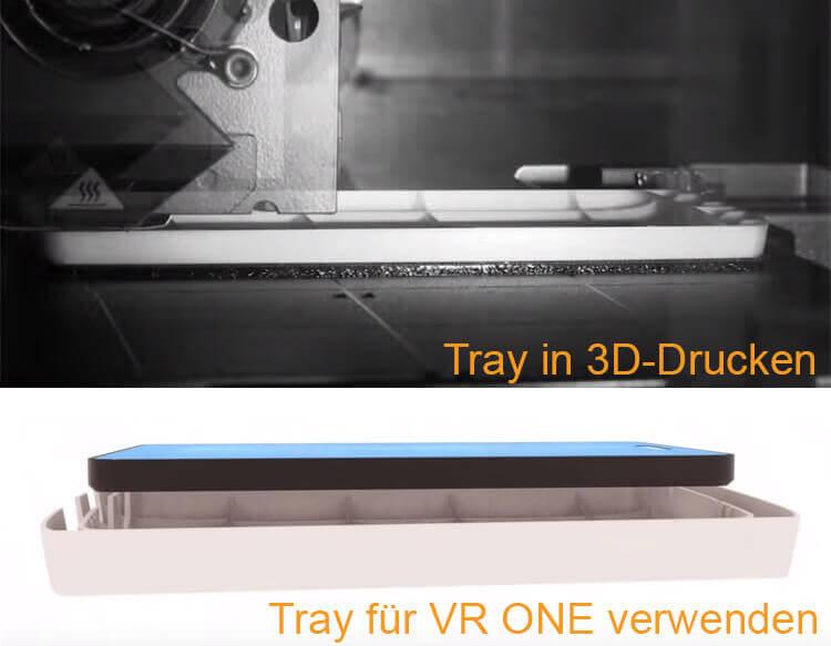 Tray aus dem 3D-Drucker