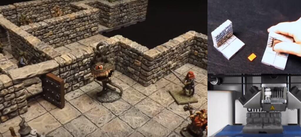 DRAGONLOCK™ – Dungeons mit dem 3D-Drucker