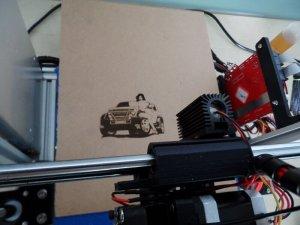 Lasergravur mit dem Max Micron Dual Head 3D-Drucker