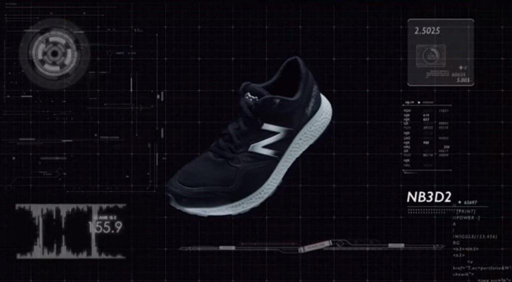 New Balance Laufschuh aus dem 3D-Drucker