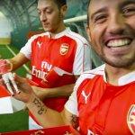 3D-Seflie für Arsenal London-Spieler