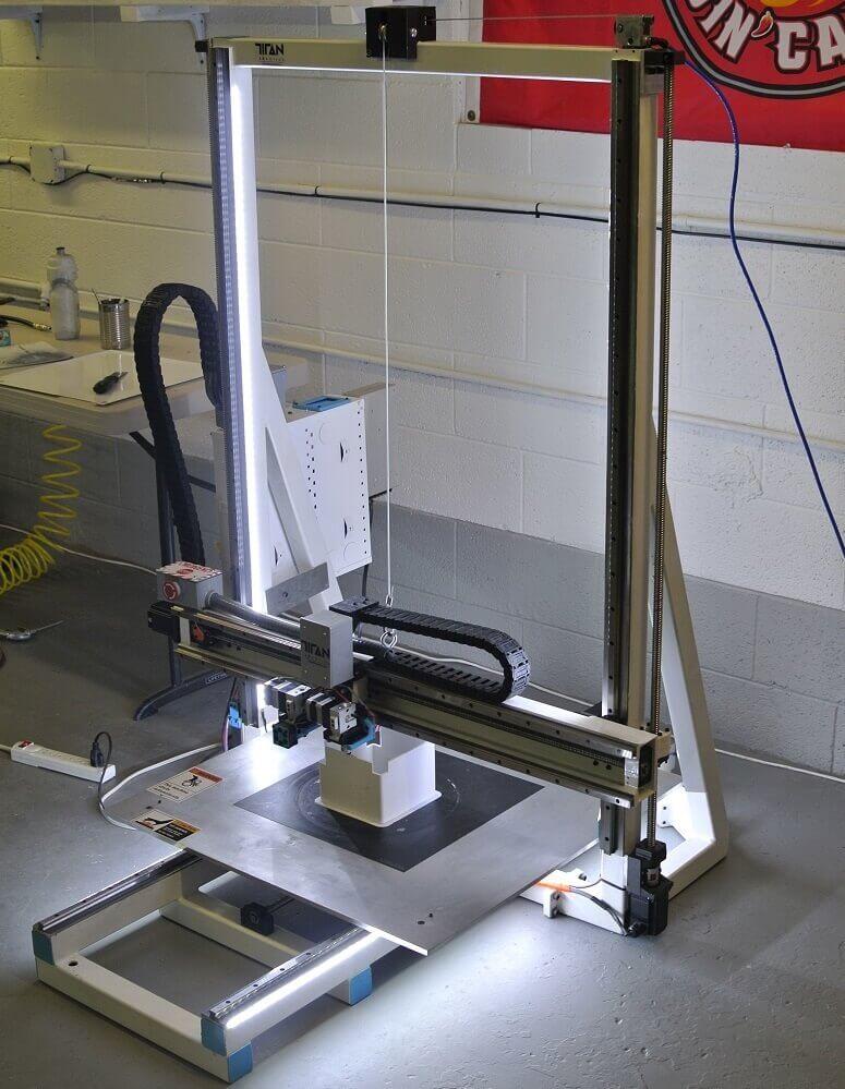 Atlas 2.0 3D-Drucker von Titan Robotics
