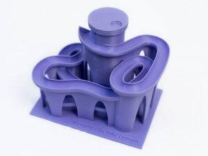 Kugelbahn aus dem 3D-Drucker