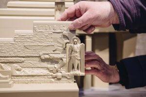 Völkerschlachtdenkmal als 3D-Modell